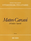 Matteo Carcassi: 25 methodische und fortschreitende Etüden op.60: Guitar: