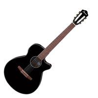AEG50N AEG Series Nylon Black High Gloss Guitar: Acoustic Guitar