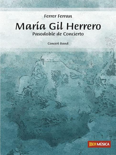 Ferrer Ferran: María Gil Herrero: Concert Band: Score