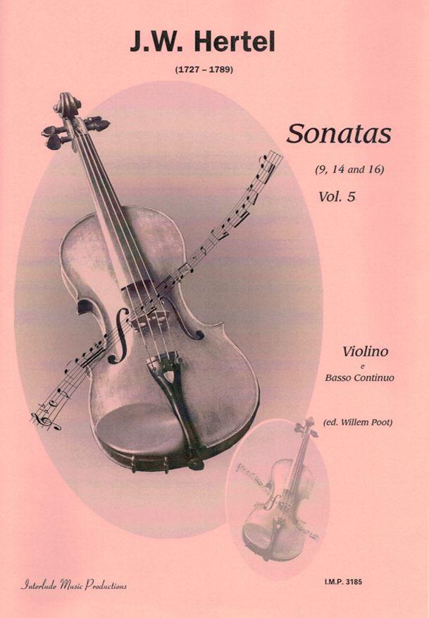 J. W. Hertel: Sonatas Vol. 5: Violin Solo: Instrumental Album