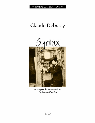 Claude Debussy: Syrinx: Bass Clarinet: Instrumental Work