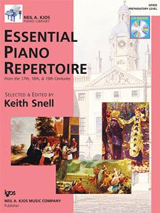 Keith Snell: Essential Piano Repertoire: Piano: Instrumental Album