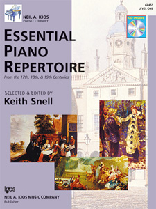 Keith Snell: Essential Piano Repertoire 1: Piano: Instrumental Album