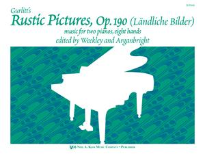 Cornelius Gurlitt: Rustic Pictures Opus 190: Piano Duet: Score