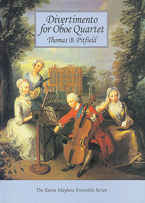 Thomas Pitfield: Divertimento for Oboe Quartet - Score