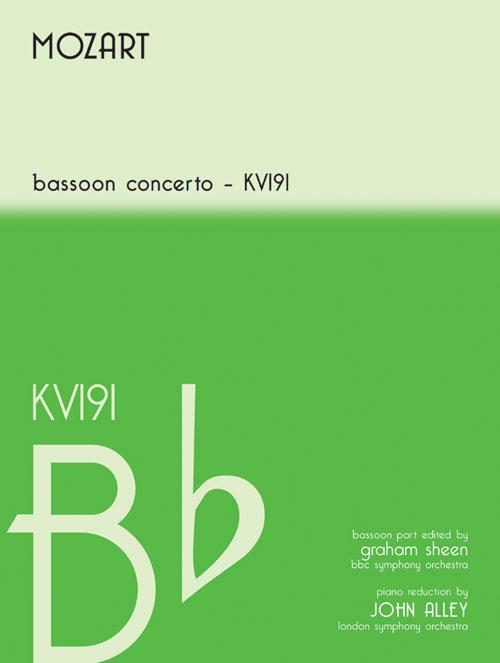 Wolfgang Amadeus Mozart: Mozart Bassoon Concerto in B Flat KV191: Bassoon