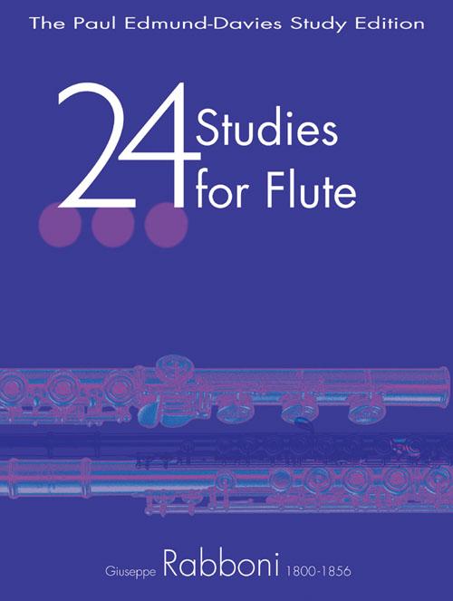 Giuseppe Rabonni: 24 Studies for Flute: Flute: Study