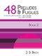 Johann Sebastian Bach: 48 Preludes And Fugues Book 2 BWV 870-893: Piano:
