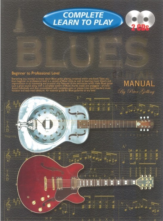 Complete Learn To Play Blues Guitar: Guitar: Instrumental Tutor