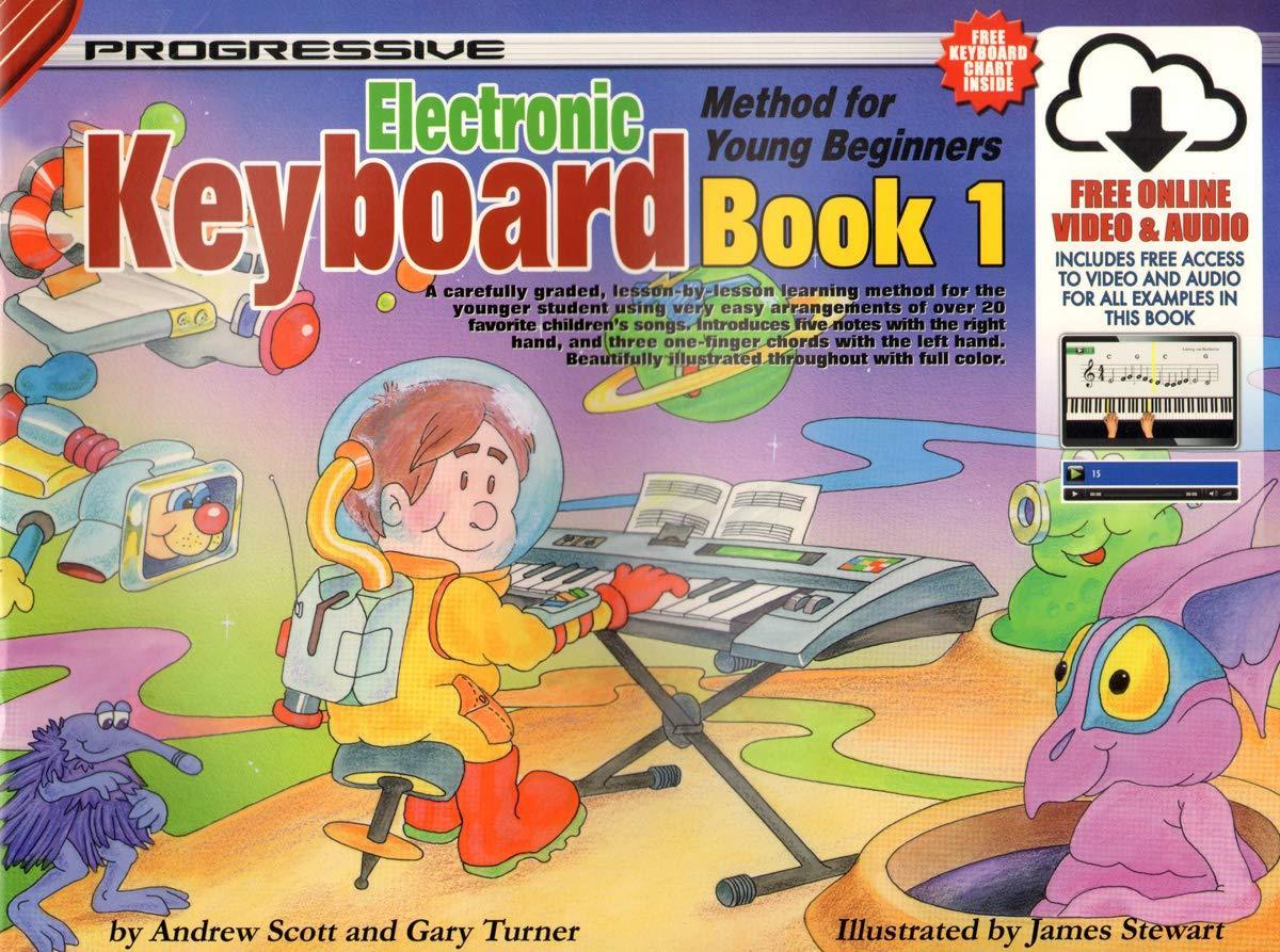 Gary Turner: Progressive Keyboard Book 1: Electric Keyboard: Instrumental Tutor
