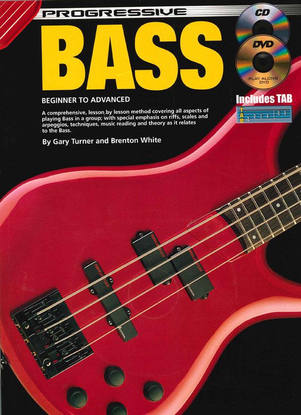 Gary Turner: Progressive Bass Guitar: Bass Guitar: Instrumental Tutor