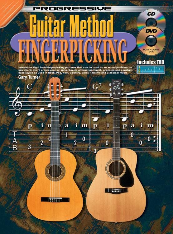 Gary Turner: Guitar Method Fingerpicking: Guitar: Instrumental Tutor