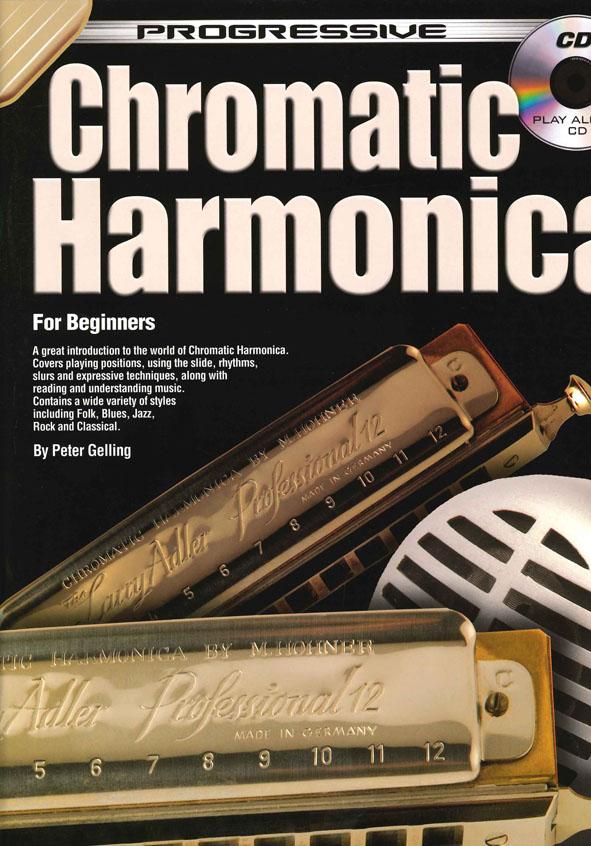 Chromatic Harmonica: For Beginners (Progressive)