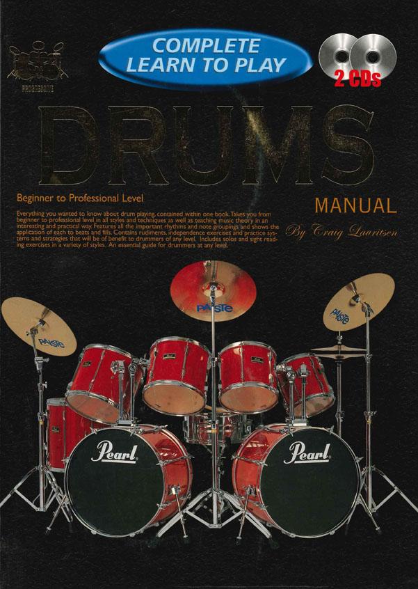 C. Lauritsen: Complete Learn To Play Drums: Drum Kit: Instrumental Tutor