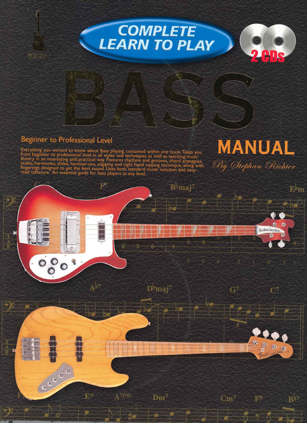 Stephan Richter: Complete Learn To Play Bass: Bass Guitar: Instrumental Tutor