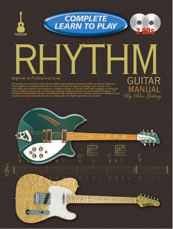 Peter Gelling: Complete Learn To Play Rhythm Guitar: Guitar: Instrumental Tutor