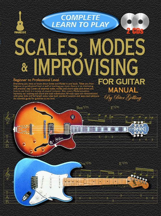 Complete Learn To Play Scales Modes: Guitar: Instrumental Tutor