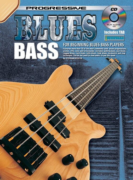 Stephan Richter: Blues Bass: Bass Guitar: Instrumental Tutor