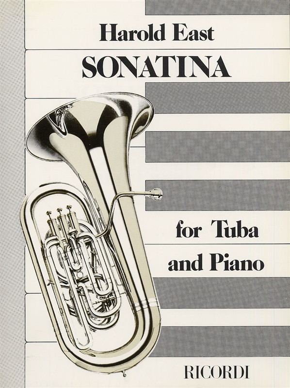 Harold East: Sonatina For Tuba & Piano: Trombone or Tuba: Instrumental Work
