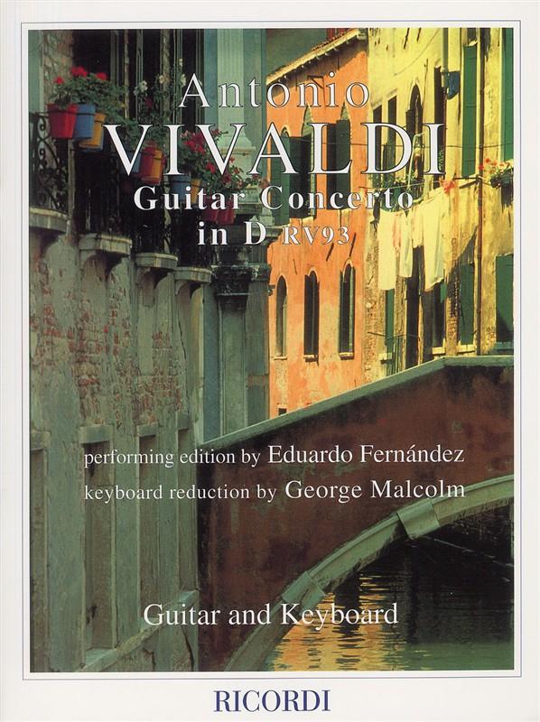Antonio Vivaldi: Concerto In D RV93: Guitar: Instrumental Work