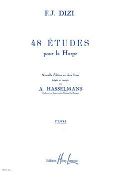 François-Joseph Dizi: 48 Etudes pour la Harpe: Harp: Insturmental Work