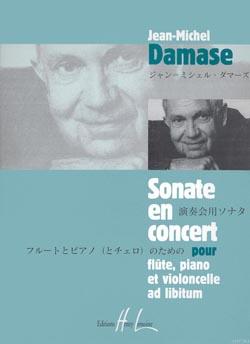Jean-Michel Damase: Sonate En Concert: Flute & Cello: Score and Parts