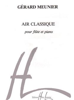 Thierry Meunier: Air Classique: Flute