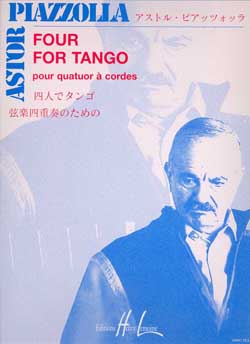 Astor Piazzolla: Four for Tango: String Quartet: Score and Parts