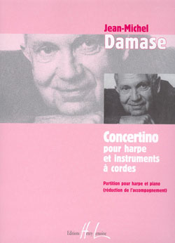 Jean-Michel Damase: Concertino pour harpe: Harp