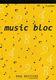 Music bloc 16 portées: Manuscript