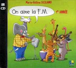 Marie-Hélène Siciliano: On aime la F.M. CD Vol.1: Instrumental Tutor