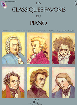 Les Classiques favoris Vol.3: Piano