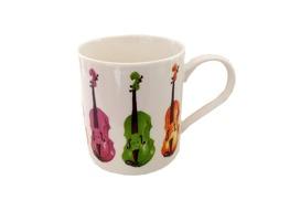 Little Snoring Cards & Gifts Allegro Mug Violin  Bone China  Multi-Colour  12 x 10 x 9 cm