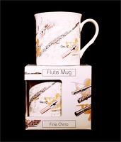 Little Snoring Gifts: Fine China Mug - Flute Design