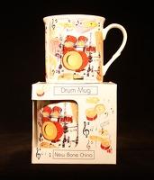 Fine China Mug - Drums Design: Mug