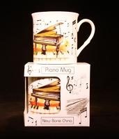 Fine China Mug - Piano Design: Mug