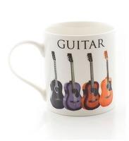 Little Snoring: Music Word Mug - Acoustic Guitar