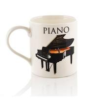 Music Word Mug - Piano: Mug