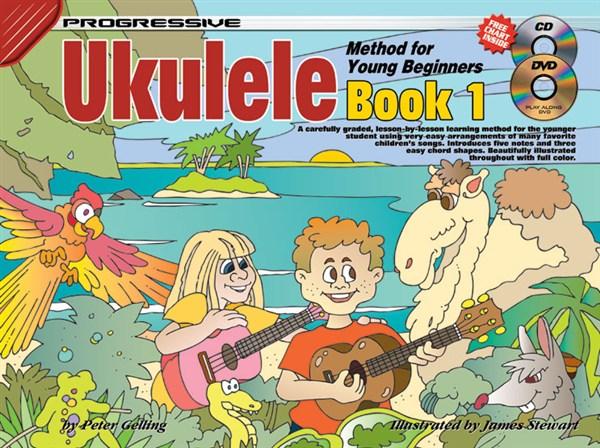 Peter Gelling: Progressive Ukulele Method: Book 1: Ukulele: Instrumental Tutor