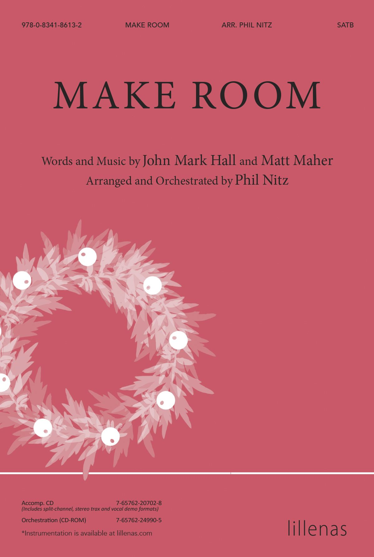 Make Room: SATB: Vocal Score