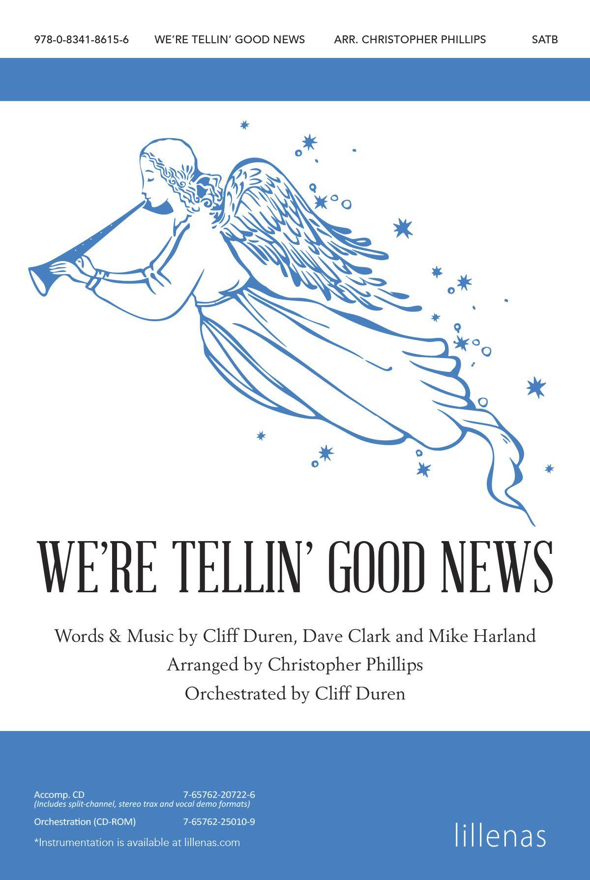 We're Tellin' Good News: SATB: Vocal Score