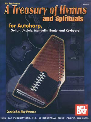 A Treasury of Hymns and Spirituals: Autoharp: Mixed Songbook