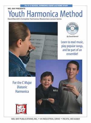 David Barrett: Youth Harmonica Method: Harmonica: Instrumental Tutor