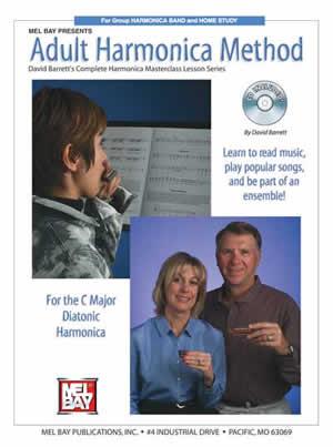 Barrett: Adult Harmonica Method: Harmonica: Instrumental Tutor