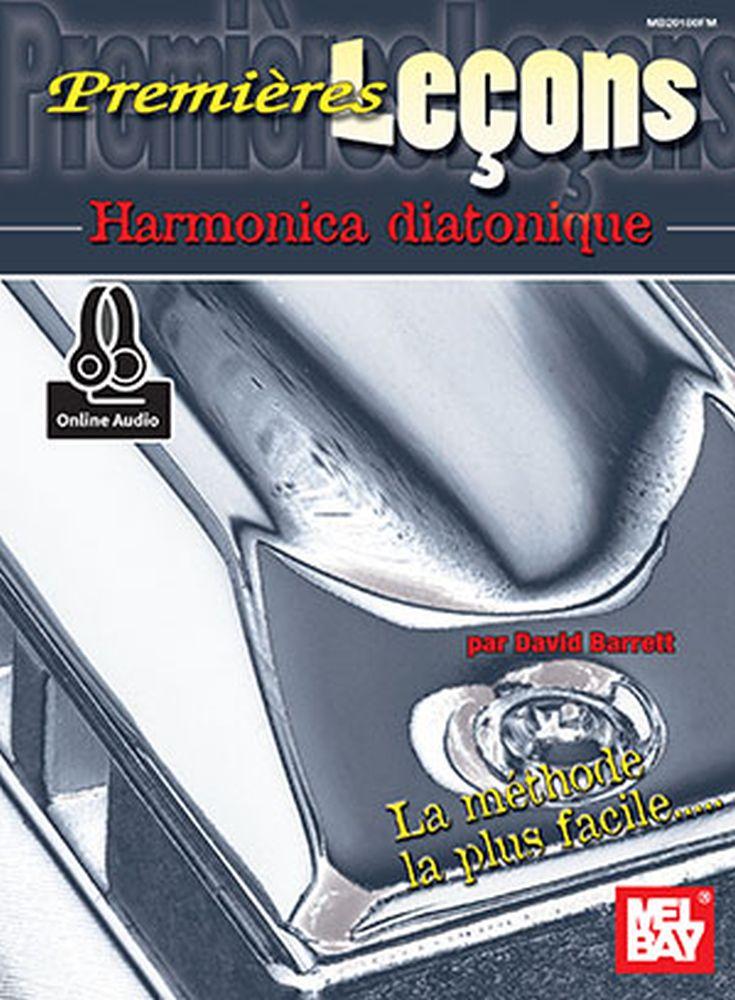 David Barrett: First Lessons: Blues Harmonica French Edition: Harmonica: