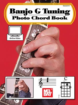 William Bay: Banjo G Tuning Photo Chord Book: Banjo: Instrumental Reference