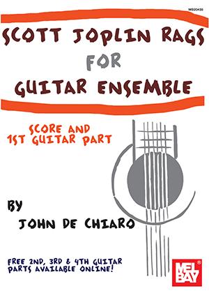 Scott Joplin: Joplin  Scott - Rags For Guitar Ensemble: Guitar: Instrumental