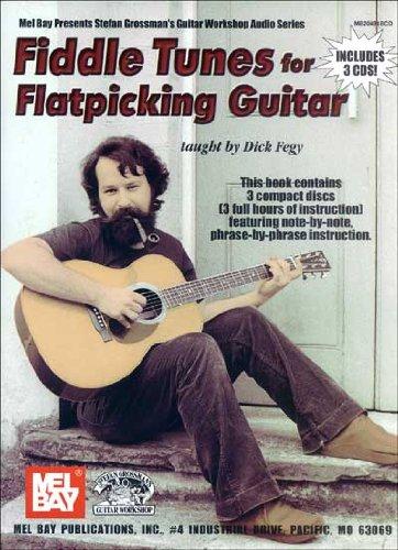 Stefan Grossman: Fiddle Tunes For Flatpicking Guitar Book/3-Cd Set: Guitar: