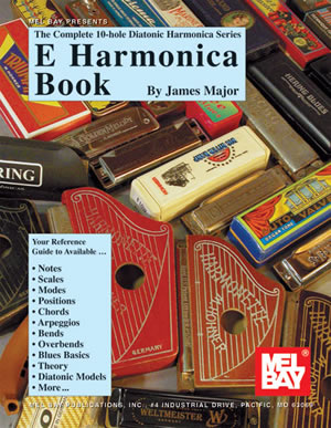 James Major: Complete 10-Hole Diatonic Harmonica Srs: E: Harmonica: Instrumental
