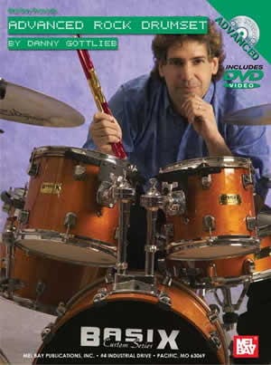 Danny Gottlieb: Advanced Rock Drumset: Drum Kit